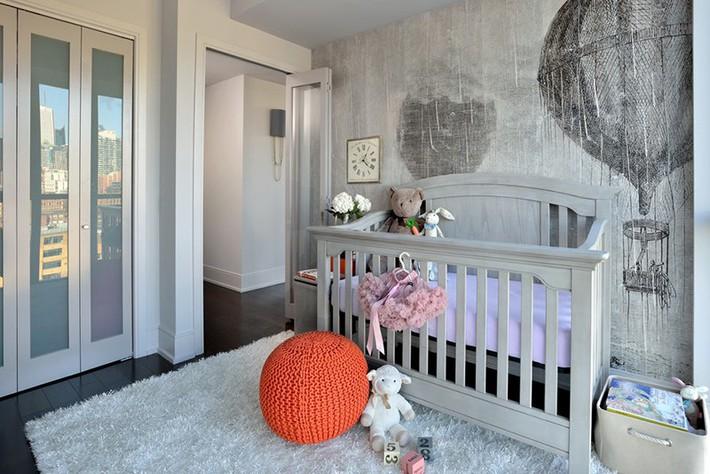 Những mẫu thiết kế phòng trẻ sơ sinh đủ khiến bạn choáng ngợp chẳng nói nên lời - Ảnh 18.