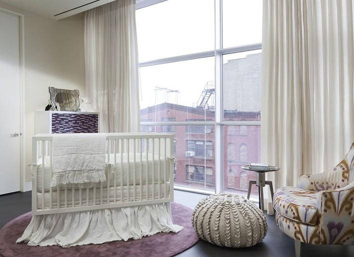 Những mẫu thiết kế phòng trẻ sơ sinh đủ khiến bạn choáng ngợp chẳng nói nên lời - Ảnh 4.