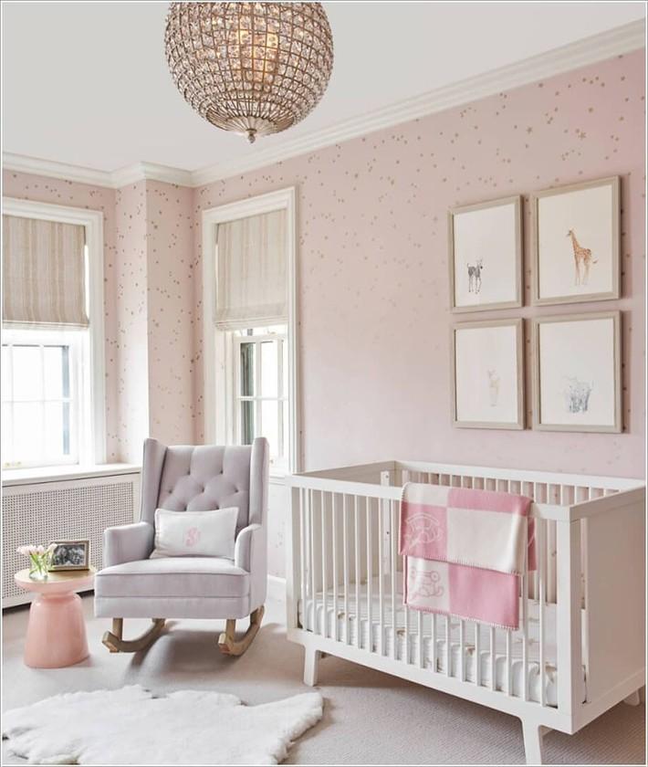 Những mẫu thiết kế phòng trẻ sơ sinh đủ khiến bạn choáng ngợp chẳng nói nên lời - Ảnh 8.