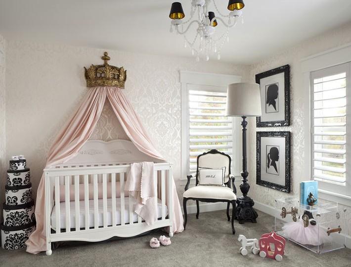 Những mẫu thiết kế phòng trẻ sơ sinh đủ khiến bạn choáng ngợp chẳng nói nên lời - Ảnh 9.