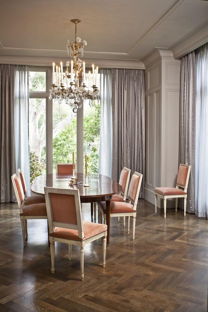 Chìm đắm trong vẻ đẹp ngọt ngào của những căn phòng ăn được tô điểm với sắc hồng - Ảnh 1.