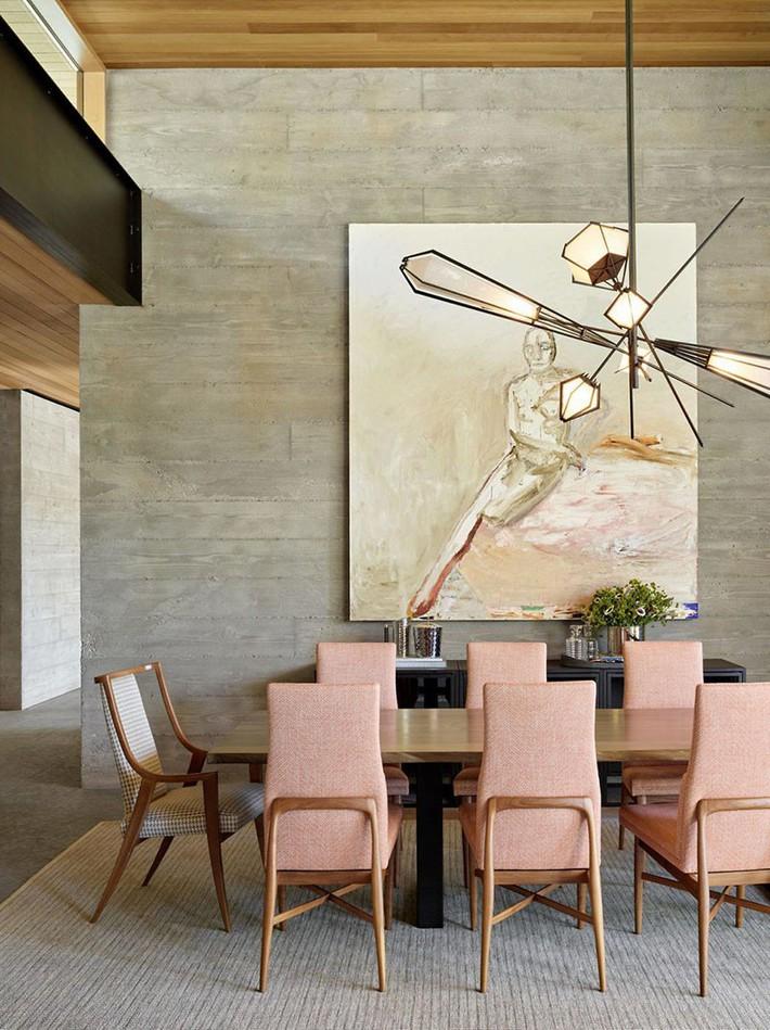 Chìm đắm trong vẻ đẹp ngọt ngào của những căn phòng ăn được tô điểm với sắc hồng - Ảnh 11.