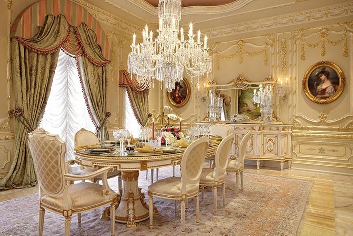 Chìm đắm trong vẻ đẹp ngọt ngào của những căn phòng ăn được tô điểm với sắc hồng - Ảnh 12.