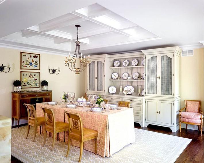 Chìm đắm trong vẻ đẹp ngọt ngào của những căn phòng ăn được tô điểm với sắc hồng - Ảnh 15.