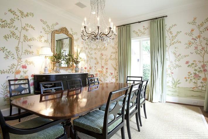 Chìm đắm trong vẻ đẹp ngọt ngào của những căn phòng ăn được tô điểm với sắc hồng - Ảnh 5.