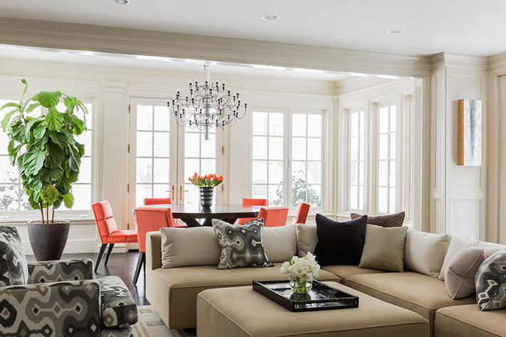 Chìm đắm trong vẻ đẹp ngọt ngào của những căn phòng ăn được tô điểm với sắc hồng - Ảnh 9.