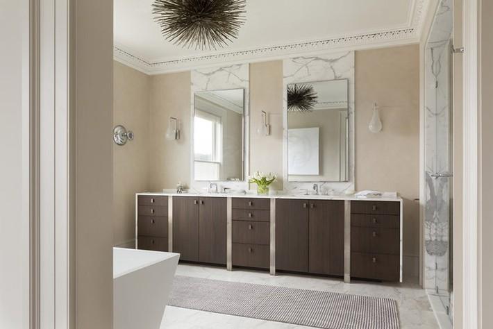 Nâng tầm vẻ đẹp của căn phòng tắm gia đình với thiết kế đèn chùm rực rỡ - Ảnh 10.