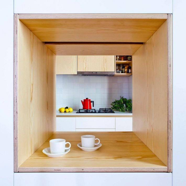 Căn hộ 70m2 có phòng bếp ẩn chứa vạn điều bí mật bên trong - Ảnh 4.
