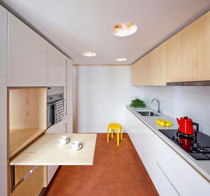 Căn hộ 70m2 có phòng bếp ẩn chứa vạn điều bí mật bên trong - Ảnh 6.