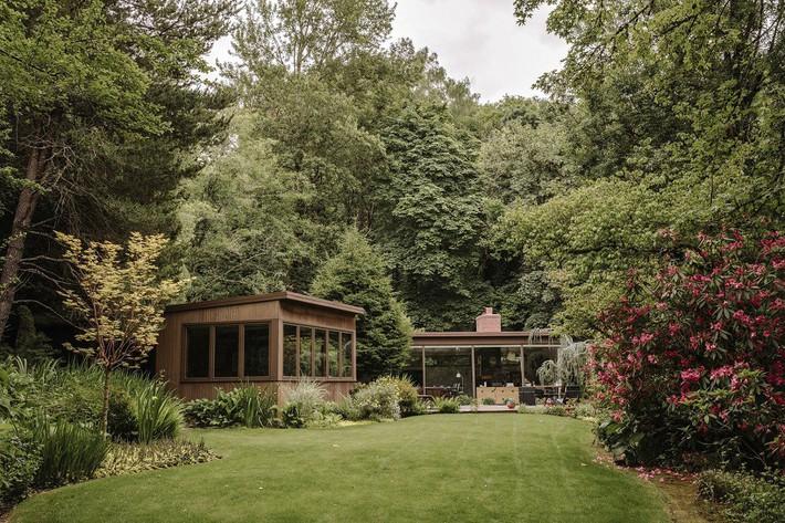 Ngôi nhà có lịch sử lâu đời từ thời hậu chiến Mỹ lại gây thương nhớ nhờ bối cảnh tự nhiên đẹp xuất sắc - Ảnh 4.
