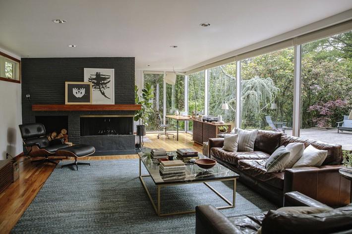 Ngôi nhà có lịch sử lâu đời từ thời hậu chiến Mỹ lại gây thương nhớ nhờ bối cảnh tự nhiên đẹp xuất sắc - Ảnh 5.