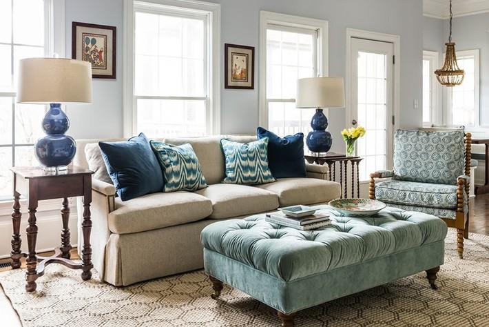 Chiêm ngưỡng vẻ đẹp của những căn phòng khách mang phong cách đầy ngẫu hứng - Ảnh 8.