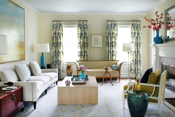 Chiêm ngưỡng vẻ đẹp của những căn phòng khách mang phong cách đầy ngẫu hứng - Ảnh 9.