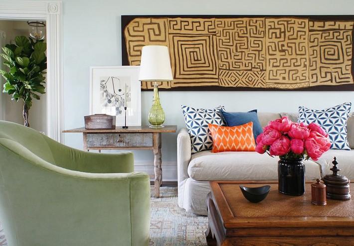Chiêm ngưỡng vẻ đẹp của những căn phòng khách mang phong cách đầy ngẫu hứng - Ảnh 11.