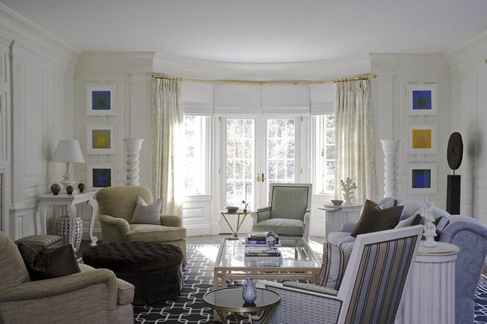 Chiêm ngưỡng vẻ đẹp của những căn phòng khách mang phong cách đầy ngẫu hứng - Ảnh 13.