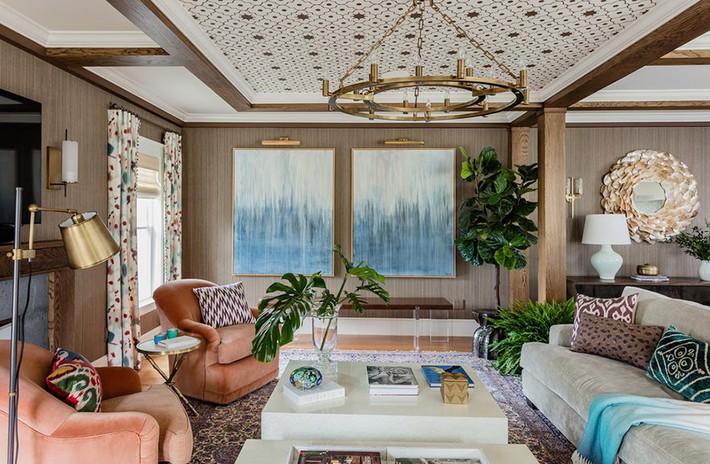 Chiêm ngưỡng vẻ đẹp của những căn phòng khách mang phong cách đầy ngẫu hứng - Ảnh 19.