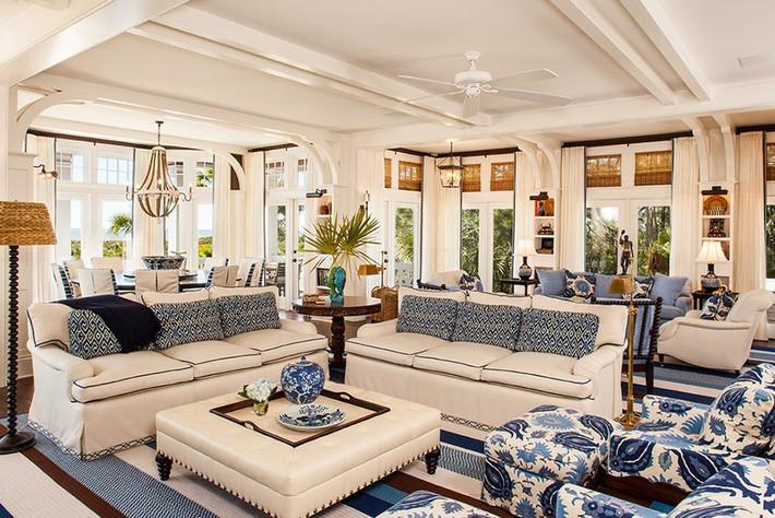 Chiêm ngưỡng vẻ đẹp của những căn phòng khách mang phong cách đầy ngẫu hứng - Ảnh 21.