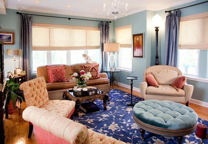 Chiêm ngưỡng vẻ đẹp của những căn phòng khách mang phong cách đầy ngẫu hứng - Ảnh 2.