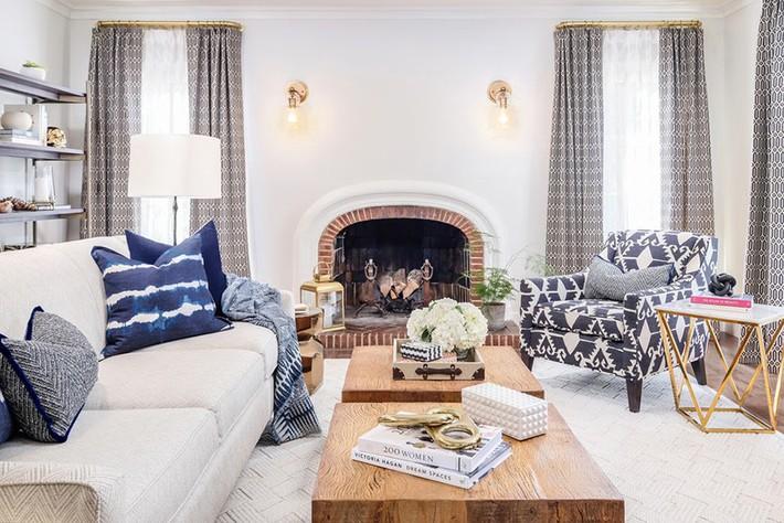 Chiêm ngưỡng vẻ đẹp của những căn phòng khách mang phong cách đầy ngẫu hứng - Ảnh 6.