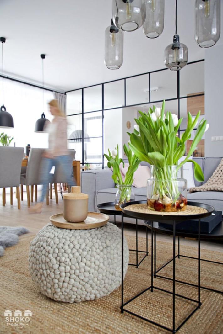 Sử dụng triệt để tính đơn giản và chức năng của vật liệu tự nhiên là mô tả hoàn hảo nội thất ngôi nhà này - Ảnh 1.