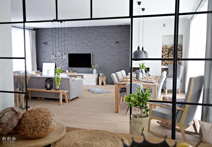 Sử dụng triệt để tính đơn giản và chức năng của vật liệu tự nhiên là mô tả hoàn hảo nội thất ngôi nhà này - Ảnh 5.