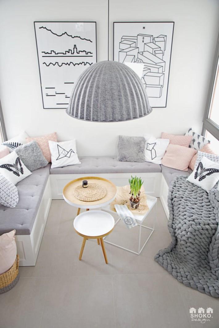 Sử dụng triệt để tính đơn giản và chức năng của vật liệu tự nhiên là mô tả hoàn hảo nội thất ngôi nhà này - Ảnh 9.