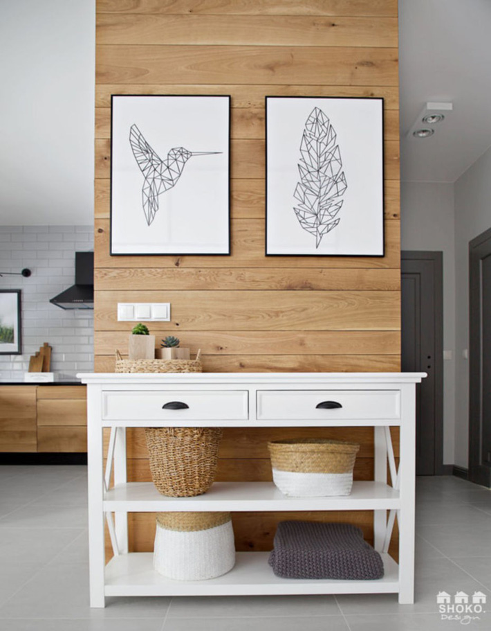 Sử dụng triệt để tính đơn giản và chức năng của vật liệu tự nhiên là mô tả hoàn hảo nội thất ngôi nhà này - Ảnh 10.