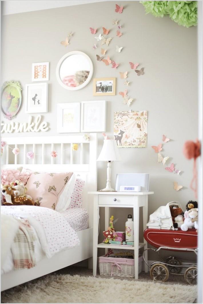 10 ý tưởng thủ công giúp trang trí tường phòng ngủ cho con bạn đẹp mê ly - xinh hết ý - Ảnh 1.