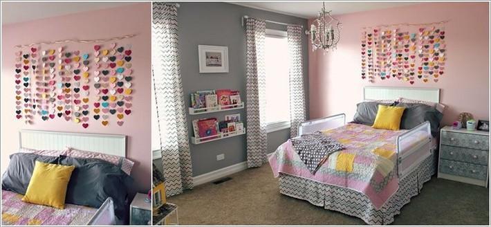 10 ý tưởng thủ công giúp trang trí tường phòng ngủ cho con bạn đẹp mê ly - xinh hết ý - Ảnh 3.