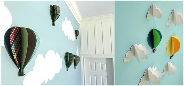 10 ý tưởng thủ công giúp trang trí tường phòng ngủ cho con bạn đẹp mê ly - xinh hết ý - Ảnh 6.