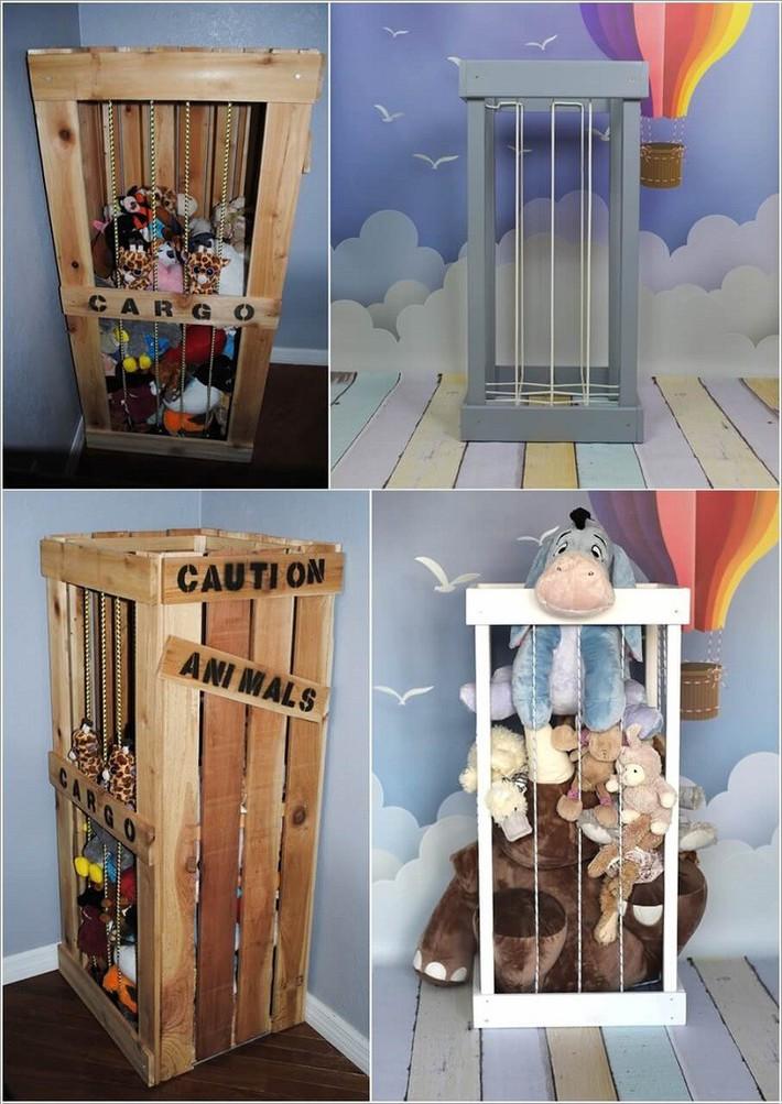 Lấy cảm hứng từ chất liệu gỗ, bạn có thể làm được vô số vật dụng hữu ích cho phòng ngủ của con mình - Ảnh 11.