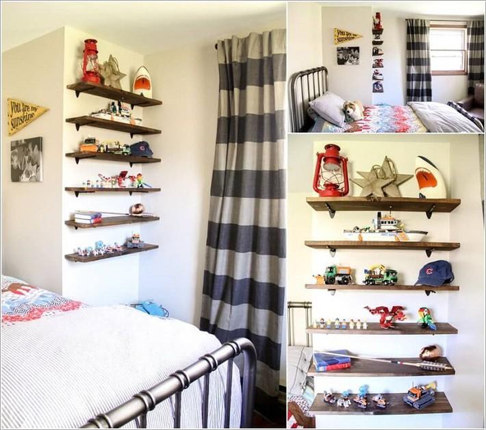 Lấy cảm hứng từ chất liệu gỗ, bạn có thể làm được vô số vật dụng hữu ích cho phòng ngủ của con mình - Ảnh 4.