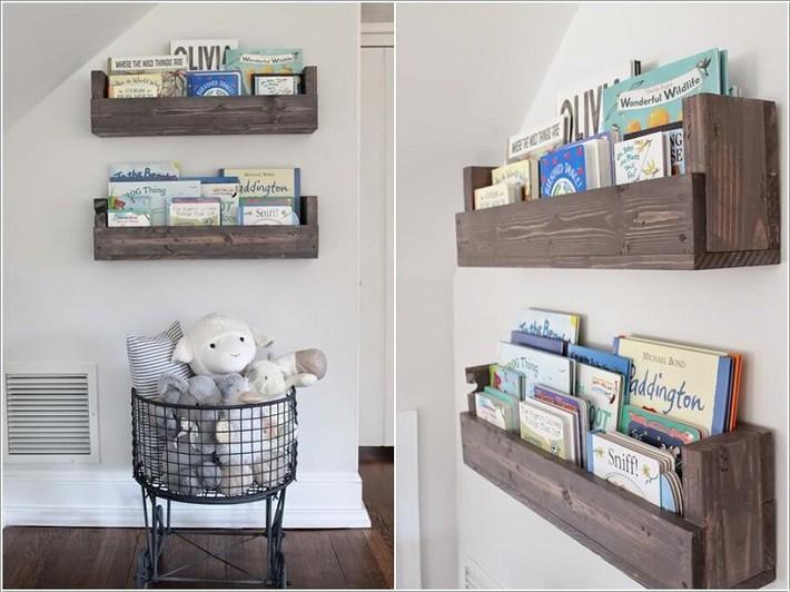 Lấy cảm hứng từ chất liệu gỗ, bạn có thể làm được vô số vật dụng hữu ích cho phòng ngủ của con mình - Ảnh 5.