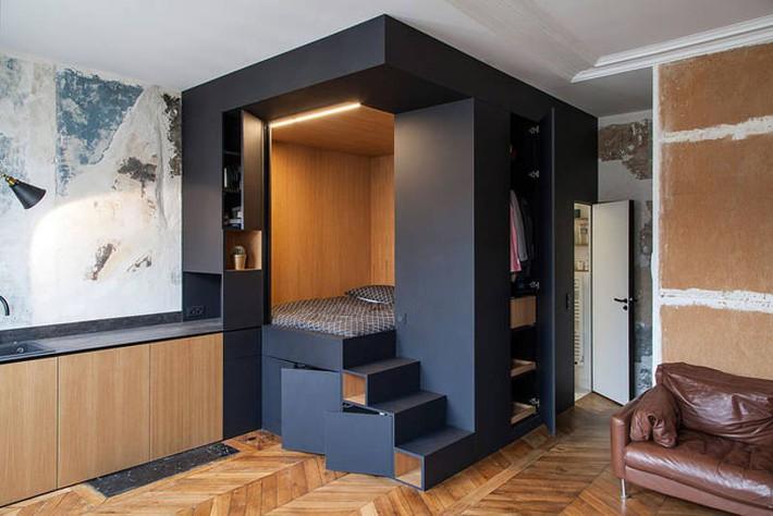 Gợi ý 10 thiết kế phòng ngủ cho căn hộ có diện tích nhỏ mà bạn có thể áp dụng ngay  - Ảnh 4.