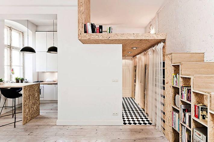 Gợi ý 10 thiết kế phòng ngủ cho căn hộ có diện tích nhỏ mà bạn có thể áp dụng ngay  - Ảnh 7.