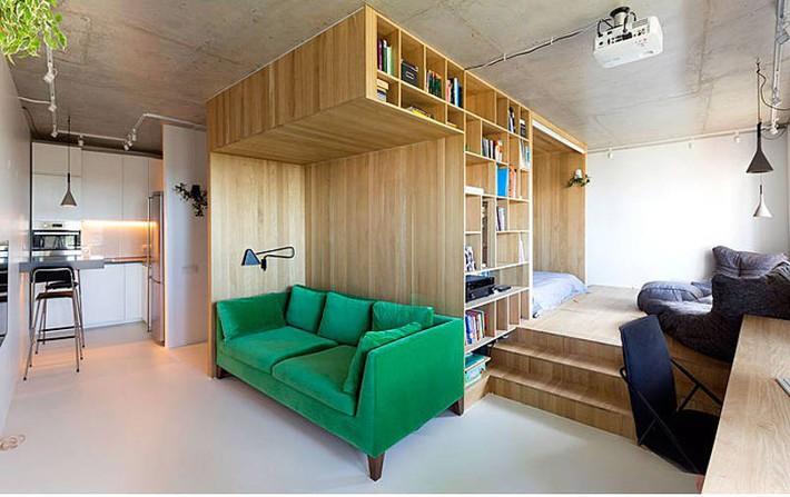 Gợi ý 10 thiết kế phòng ngủ cho căn hộ có diện tích nhỏ mà bạn có thể áp dụng ngay  - Ảnh 9.