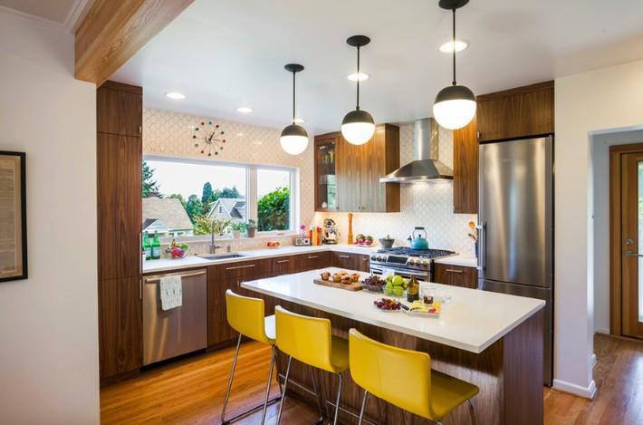 Đừng dè bỉu nhà bếp nhỏ vì 5 ý tưởng thiết kế dưới đây sẽ khiến bạn phải thay đổi  - Ảnh 10.