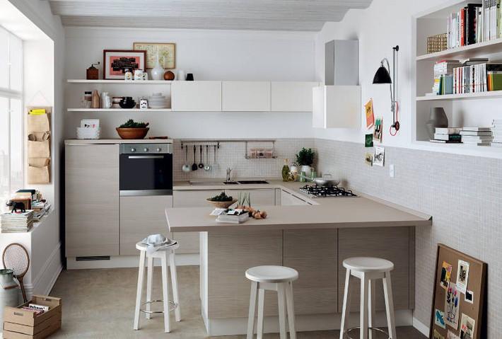 Đừng dè bỉu nhà bếp nhỏ vì 5 ý tưởng thiết kế dưới đây sẽ khiến bạn phải thay đổi  - Ảnh 12.