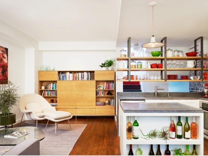 Đừng dè bỉu nhà bếp nhỏ vì 5 ý tưởng thiết kế dưới đây sẽ khiến bạn phải thay đổi  - Ảnh 16.