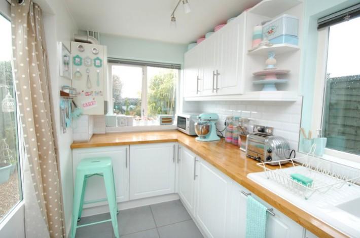 Đừng dè bỉu nhà bếp nhỏ vì 5 ý tưởng thiết kế dưới đây sẽ khiến bạn phải thay đổi  - Ảnh 21.
