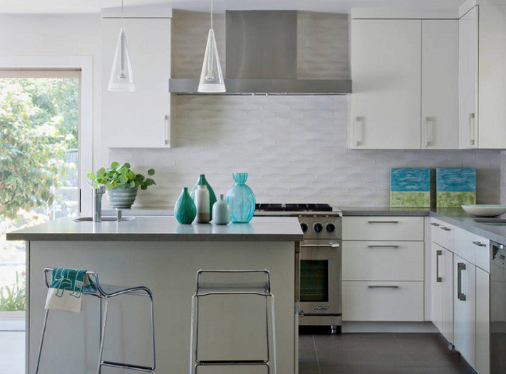 Đừng dè bỉu nhà bếp nhỏ vì 5 ý tưởng thiết kế dưới đây sẽ khiến bạn phải thay đổi  - Ảnh 22.