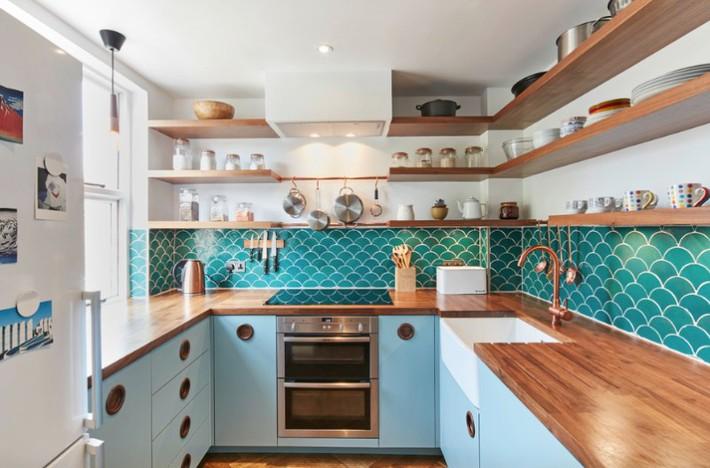 Đừng dè bỉu nhà bếp nhỏ vì 5 ý tưởng thiết kế dưới đây sẽ khiến bạn phải thay đổi  - Ảnh 4.