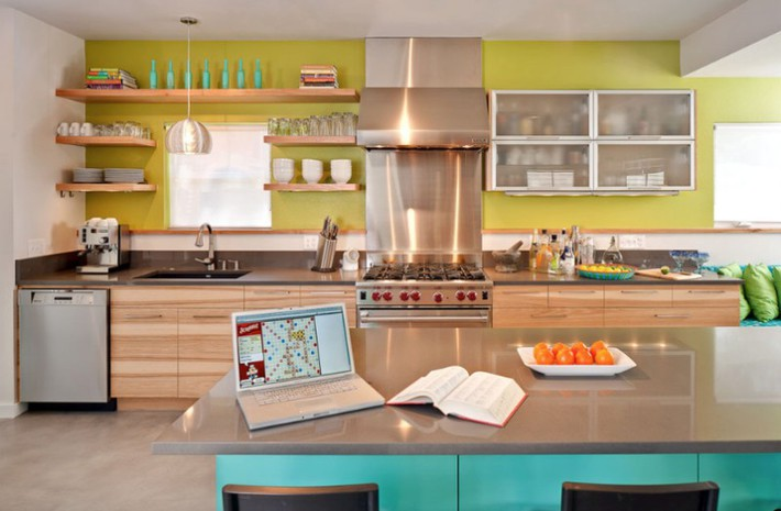 Đừng dè bỉu nhà bếp nhỏ vì 5 ý tưởng thiết kế dưới đây sẽ khiến bạn phải thay đổi  - Ảnh 5.