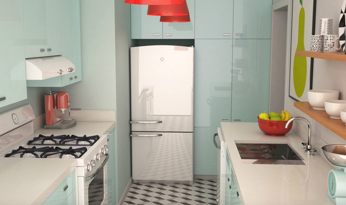 Đừng dè bỉu nhà bếp nhỏ vì 5 ý tưởng thiết kế dưới đây sẽ khiến bạn phải thay đổi  - Ảnh 7.