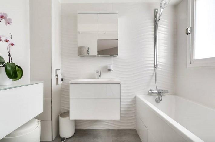 Có một cuộc cách mạng trong thiết kế phòng tắm nhỏ với 8 xu hướng phá vỡ quy tắc   - Ảnh 1.