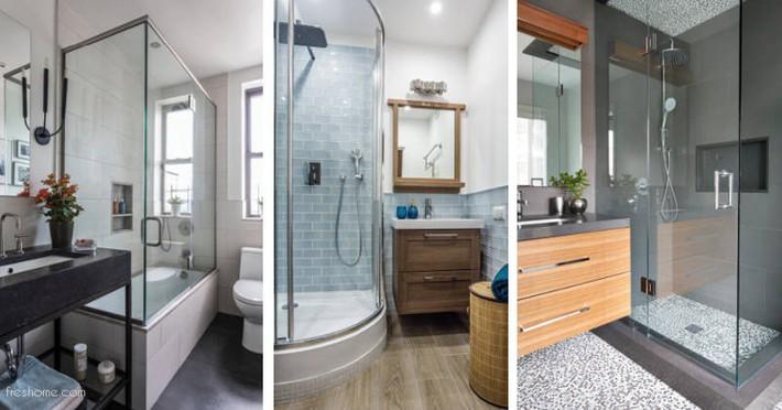 Có một cuộc cách mạng trong thiết kế phòng tắm nhỏ với 8 xu hướng phá vỡ quy tắc   - Ảnh 9.