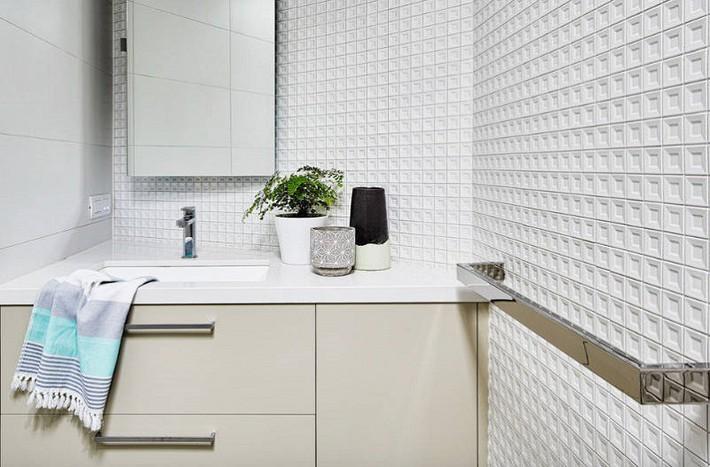 Có một cuộc cách mạng trong thiết kế phòng tắm nhỏ với 8 xu hướng phá vỡ quy tắc   - Ảnh 10.