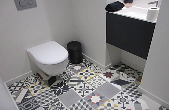 Có một cuộc cách mạng trong thiết kế phòng tắm nhỏ với 8 xu hướng phá vỡ quy tắc   - Ảnh 12.