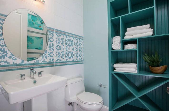 Có một cuộc cách mạng trong thiết kế phòng tắm nhỏ với 8 xu hướng phá vỡ quy tắc   - Ảnh 2.