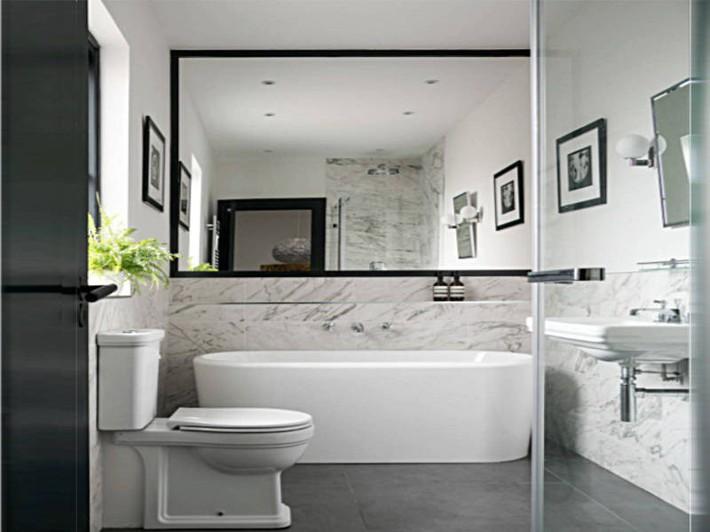 Có một cuộc cách mạng trong thiết kế phòng tắm nhỏ với 8 xu hướng phá vỡ quy tắc   - Ảnh 19.